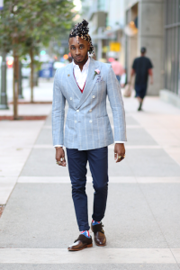 HOW TO STYLE A DOUBLE-BREASTED BLAZER – Norris Danta Ford